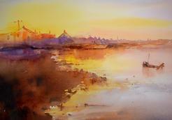 Sunset, January, Shoreham