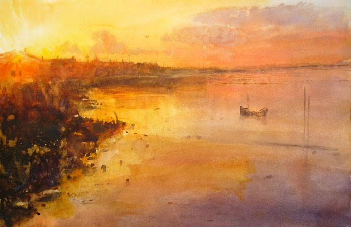 Sunset at Shoreham