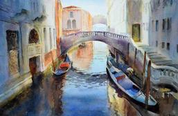 Morning sunlight, Venice