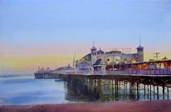Evening calm, Place Pier