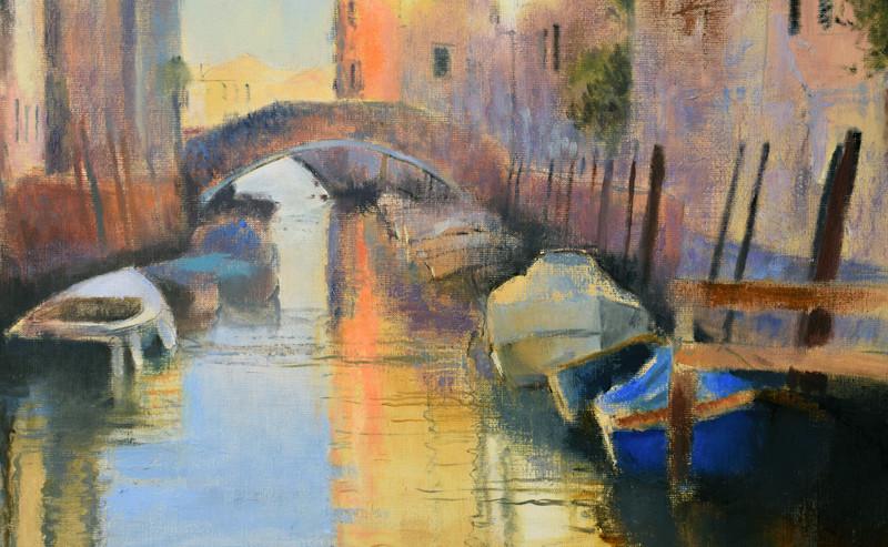 Detail: Silent Canal, Venice