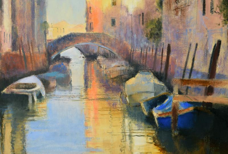 7am, Venice (detail)