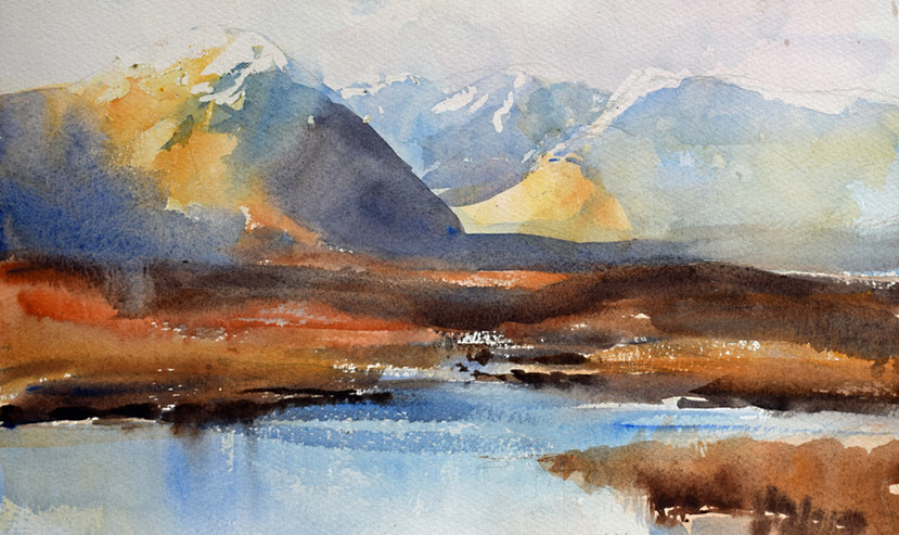 Water and Mountains, Glencoe