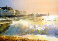 Stormy Seas Brighton Pier