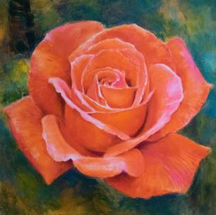 Scarlet rose (SOLD)