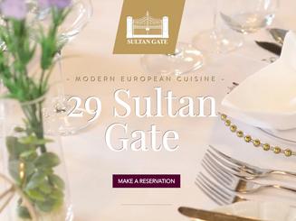 Website Design & Development for 29 Sultan Gate