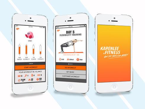 Mobile App for Karen Lee Fitness