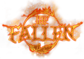 The Fallen Logo - Fire