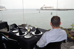 Show your restaurant and its views