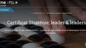 Rend-Fort partenaire du Certificat Stratégie, Leader & Leadership de l'Université Paris-Dauphine.