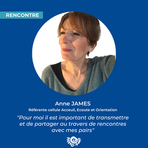 A la rencontre d'Anne James, responsable de la cellule d'accueil, d'écoute et d'orientation