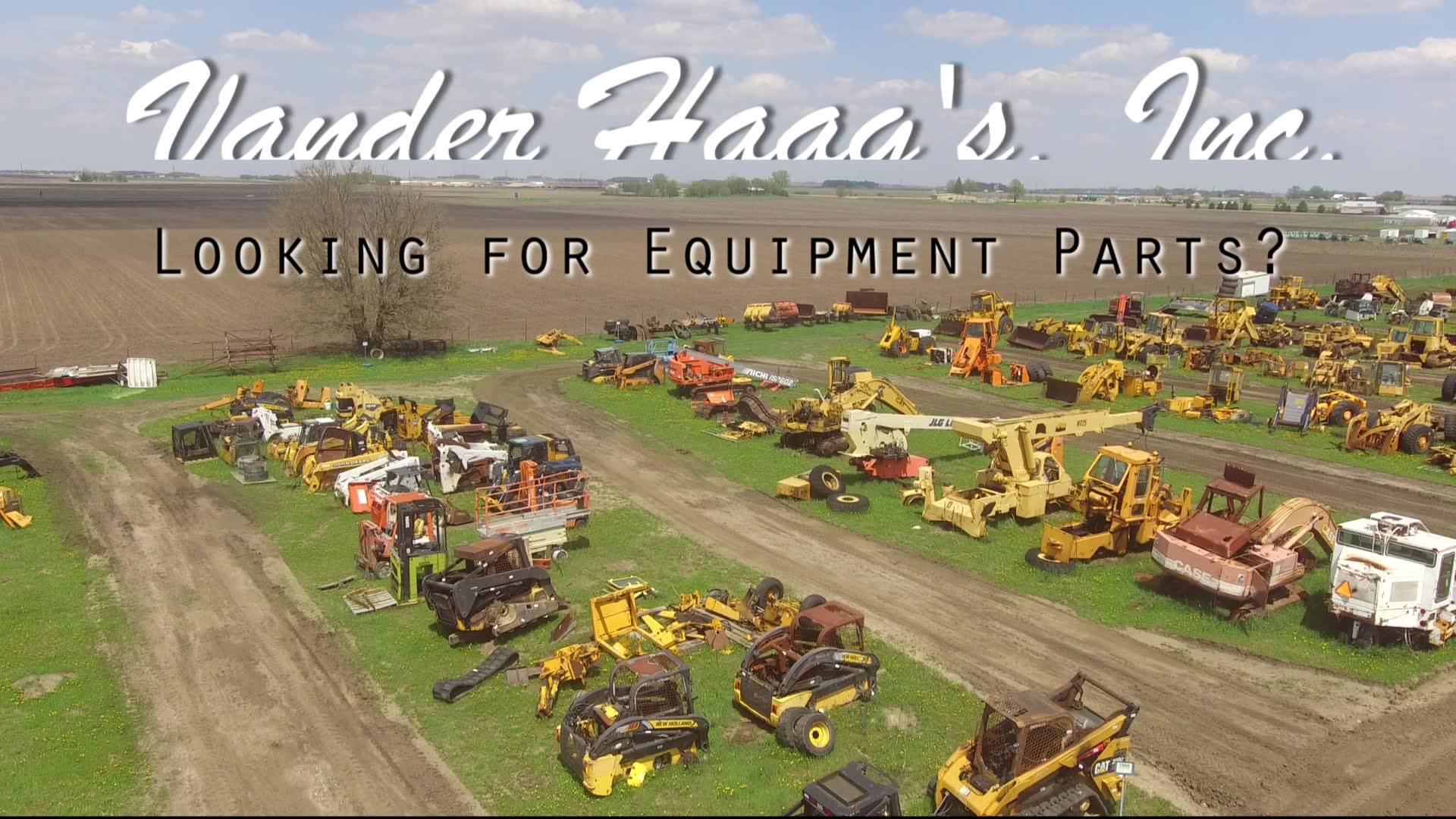 Vander Haag's, Inc. Equipment Parts
