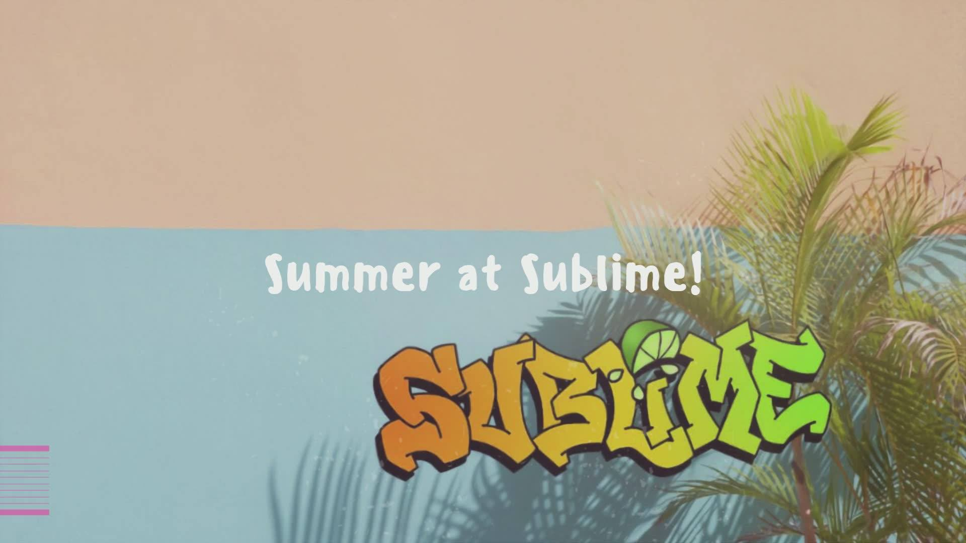 We can't wait to see you!  🌴🌞 #summeratsublime