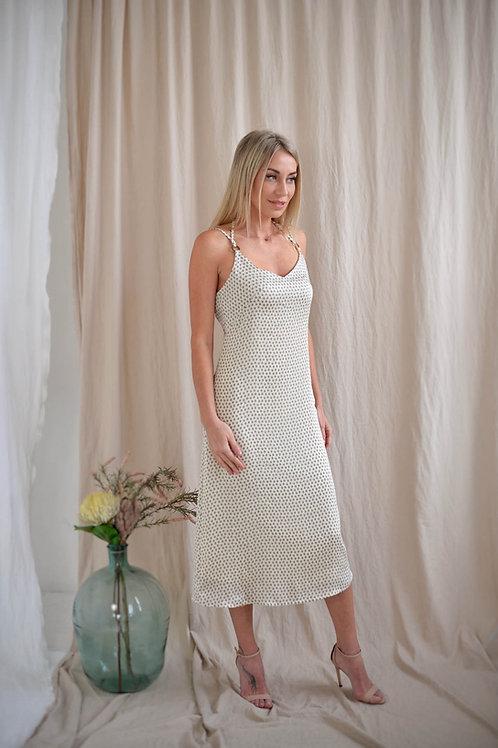 Платье-комбинация на бретельках