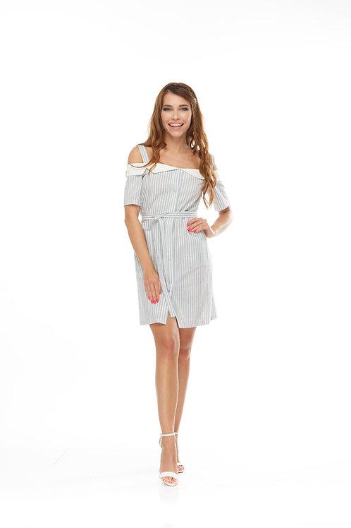 Платье рубашка на кнопках