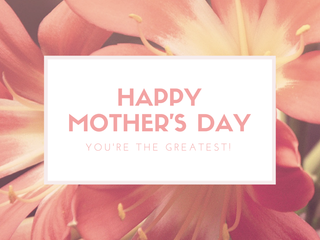 Give Mom the Gift of Health this Mother's Day!