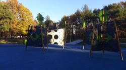 Покрытие из крошки в Аршиновском парке