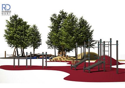 Детская площадка с геопластикой RD MAF.j