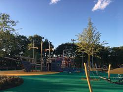 Детская площадка в Лужниках
