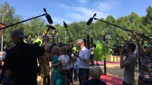 """Сергей Собянин открыл парк """"50 летия Октября"""""""