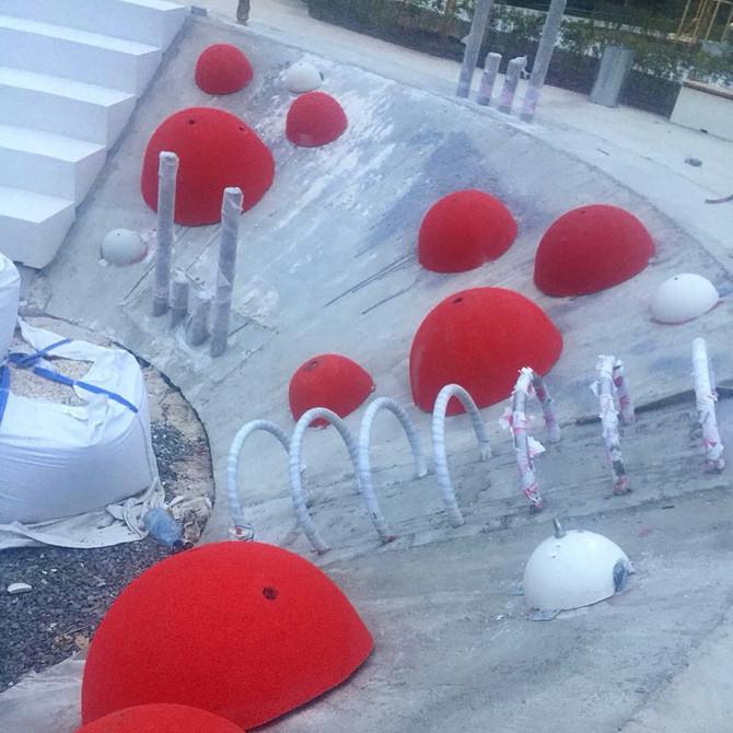 Начинаем монтаж травмобезопасных покрытий в сердце парков Росссии