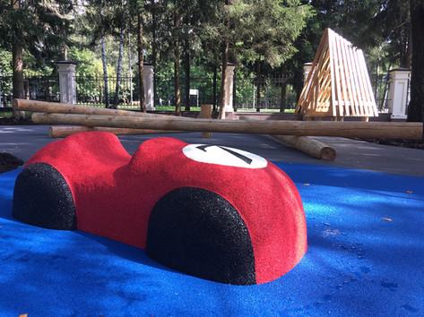 Фигуры для детских площадок Rubber Dust
