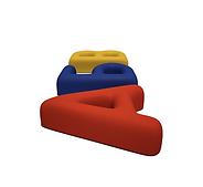 RD MAF Фигуры из резиновой крошки Буквы