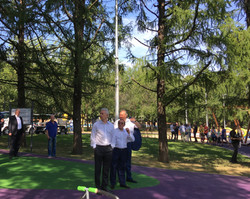 Сергей Собянин и Петр Бирюков