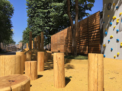 Детская площадка в Московском зоопарке
