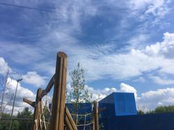 Детская площадка в Братеевской пойме