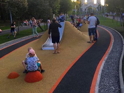 Детская площадка RD MAF парк Металлургов