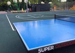 Универсальная спортивная площадка в парке Красная пресня