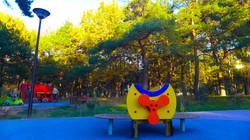 Покрытие в парке Аршиновский