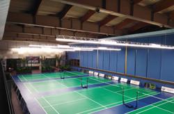 Покрытие теннисных кортов в закрытом пом