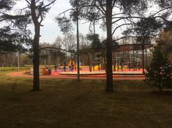 Покрытие ЭПДМ в парке 50 летия Октября