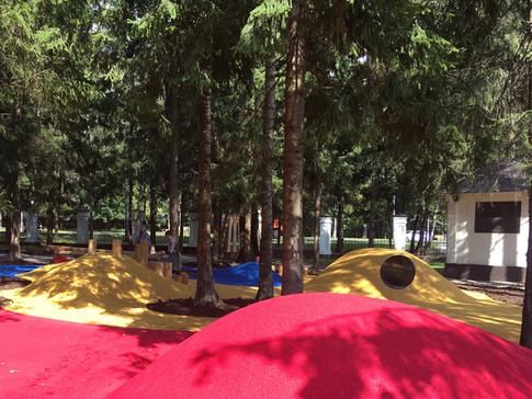 Геопластика детских площадок в Троицке R