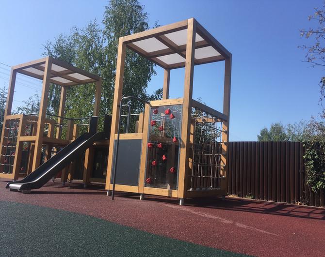 Загородные поселки и СНТ Московской области получат прекрасные детские и спортивные площадки!