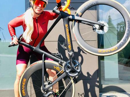 "Jennifer Lachmann rides ""Princess of Orange"" at the Race Across Germany"