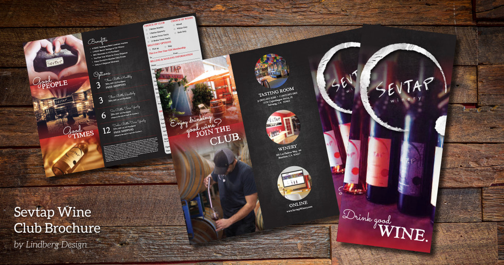 Wine Club Brochure