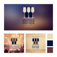Boutique wine Club Branding