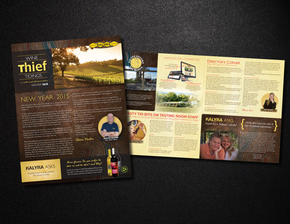 Kalyra Winery Club Newsletters