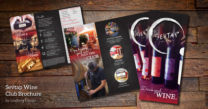 Sevtap Winery Club Brochure