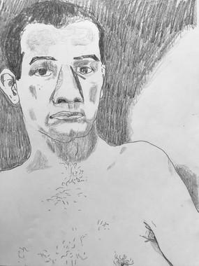 Self-Portrait in July