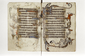 Bodleian Library MS Douce 6, Book of Hours (Ghent, c.1320-30), f.149r.