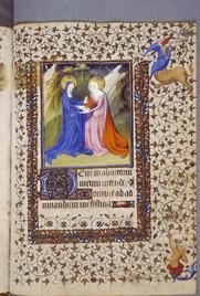 Bodley MS Canon Liturg. 75, Hours (Paris, early 15th cent), f.50r