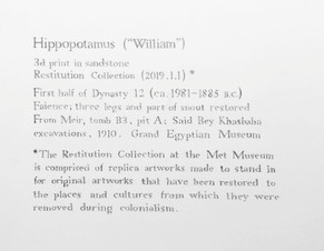 Untitled (Gallery Label)