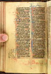 Morgan MS 329, Breviary (Devonshire, 1325-30), f.66v.