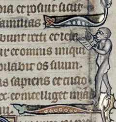 Bodleian Library MS Douce 6, Book of Hours (Ghent, c.1320-30), f.71v.