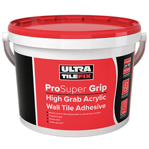 Ultra Tile Fix - High Grip Acrylic Adhesive