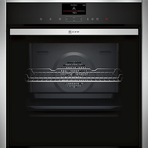 NEFF N90, BUILT-IN OVEN WITH ADDED STEAM FUNCTION, STAINLESS STEEL B47VS34H0B